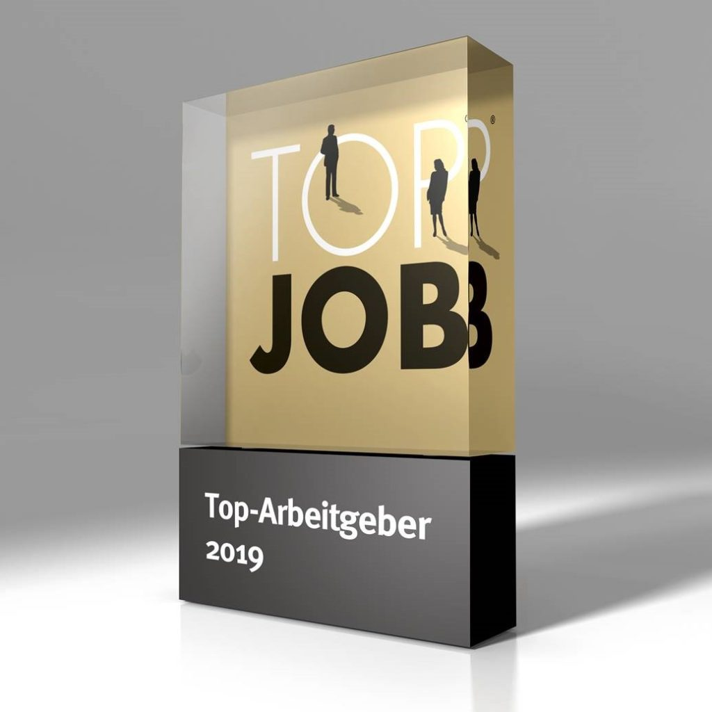 Top job Trophäe